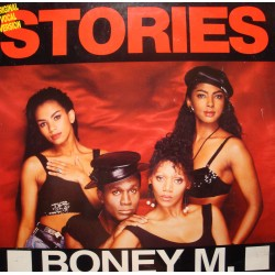 BONEY M feat LIZ MITCHELL  stories/rumours MAXI 1989 HANSA VG+