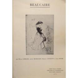 LOMBARD/MICHELOZZI/CONTESTIN/ROCHE Beaucaire 1973 SOCIÉTÉ D'HISTOIRE RARE++