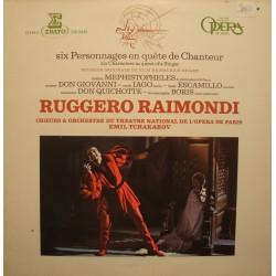 TCHAKAROV/OPERA DE PARIS six personnages en quete de chanteur RAIMONDI LP 1982 VG+