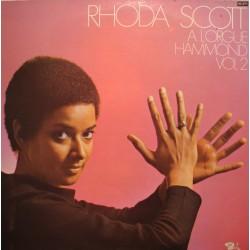 RHODA SCOTT à l'orgue hammond vol2 LP 1978 BARCLAY hair/funny girl/can can VG++