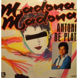 ANTONIO DE PLATA madona madona/instrumental MAXI 1987 KARAMEL VG++