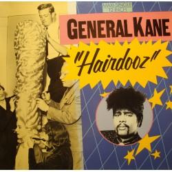 GENERAL KANE hairdooz (3 versions)/cuttin' it up MAXI 1986 MOTOWN EX++