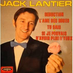 """JACK LANTIER seduction/l'ame des roses/tu sais EP 7"""" 1969 VOGUE VG++"""