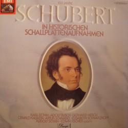 SCHUBERT in historischen schallplattenaufnahmen BOHM/SCHNABEL 5 LP'S EX++