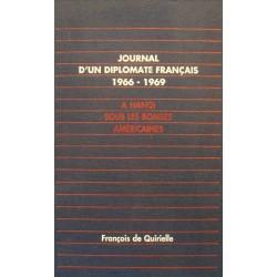 FRANÇOIS DE QUIRIELLE journal d'un diplomate français - a Hanoi 1992 TALLANDIER++