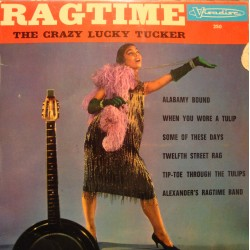 THE CRAZY LUCKY TUCKER ragtime EP VISADISC alabamy bound VG+
