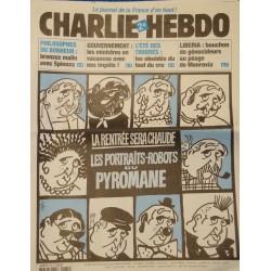 CHARLIE HEBDO 581 la rentrée sera chaude - Raffarin CABU/CHARB/WOLINSKI AOUT 2003++