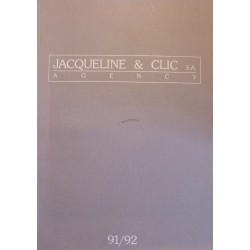 JACQUELINE AND CLIC AGENCY photographie mannequin mode 91/92 RARE++