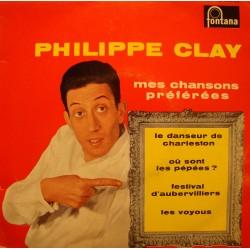 PHILIPPE CLAY danseur de charleston/ou sont les pépées/les voyous EP VG+