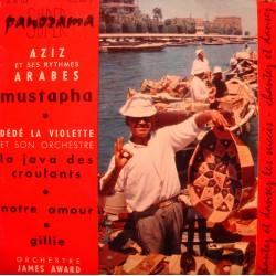 AZIZ mustapha DÉDÉ LA VIOLETTE java des croulants JAMES AWARD gillie EP VG+
