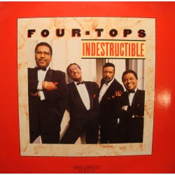 FOUR TOPS indestructible/are you with me MAXI PROMO 1988 ARISTA VG++