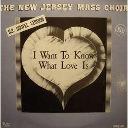 THE NEW JERSEY MASS CHOIR i want to know what love is/jesus is right on time MAXI VG+