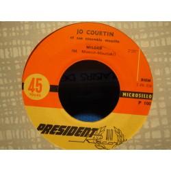 "JO COURTIN milord/strange tango SP 7"" PRESIDENT RARE VG+"