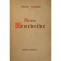 CHARLES BAUSSAN sainte Genevieve 1930 PUBLIROC++