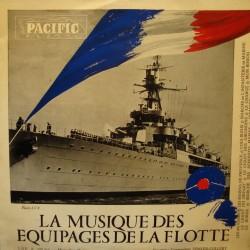 SEMLER-COLLERY musique des equipages de la flotte LP25cm PACIFIC VG+