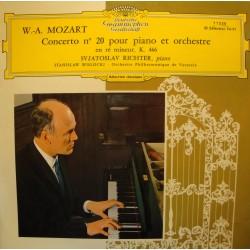 SVJAROSLAV RICHTER/WISLOCKI/VARSOVIE concerto 20 pr piano MOZART LP25cm VG++