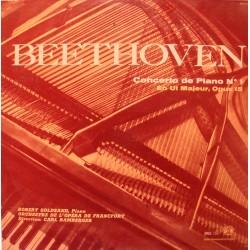 BAMBERGER/GOLDSAND/FRANCFORT concerto de piano 1 BEETHOVEN LP25cm VG++