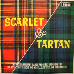 SCARLET AND TARTAN fanfare of a dedicaction PIPES AND DRUMS/MASSED MILITARY BANDS++