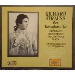 LEHMANN/SCHUMANN/OLCZEWSKA/AGYPTISCHE der rosenkavalier STRAUSS CD EX++
