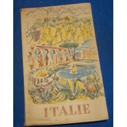 TOURING CLUB ITALIEN Italie MARIO VELLANI MARCHI 1955 ROME tourisme voyage++