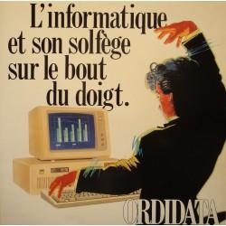 GABRIEL TACCHINO sonates n° 8/11/15/17 MOZART LP 1987 ORDIDATA publicité RARE NM++