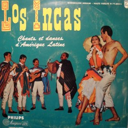 LOS INCAS chants et danses d'amerique latine LP PHILIPS RARE VG+