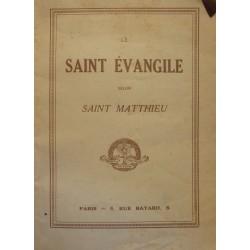 EVEQUE DE NIMES le Saint Evangile selon Saint-Matthieu 1938 BONNE PRESSE++