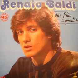 RENATO BALDI star de folies/sogno di te MAXI 1984 RCA RARE EX++
