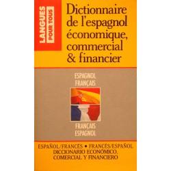 CHAPRON/GERBOIN dictionnaire de l'espagnol economique et commercial 1988 POCKET++