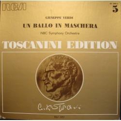 TOSCANINI/ROBERT SHAW un ballo in maschera SOMMA/VERDI 3LP'S BOX RCA EX++