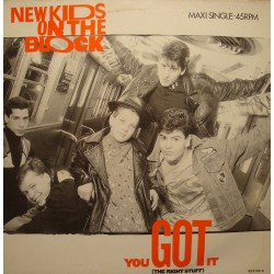 NEW KIDS ON THE BLOCK you got it (3 versions) MAXI 1988 CBS VG++
