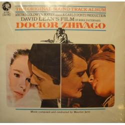 MAURICE JARRE doctor zhivago DAVID LEAN'S BO LP 1966 MGM VG++