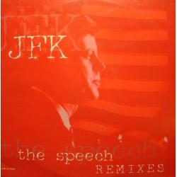 JFK the speech remixes (4 versions) MAXI 1999 HAPPY MUSIC VG++