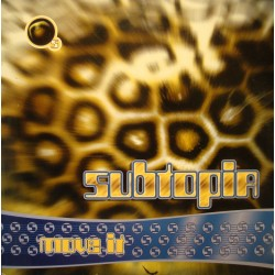 "SUBTOPIA move it (3 versions) MAXI 12"" 1994 DANCE POOL VG++"