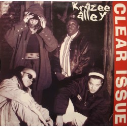 KRAZEE ALLEY clear issue 1 MAXI 1996 no small titty bitch/money krazee VG+