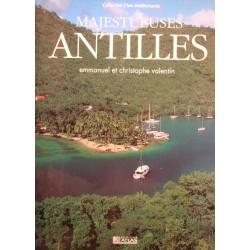 EMMANUEL ET CHRISTOPHE VALENTIN majestueuses Antilles 1994 ATLAS EX++