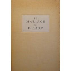 BEAUMARCHAIS le mariage de Figaro 1957 BERGER-LEVRAULT comédie théâtre++