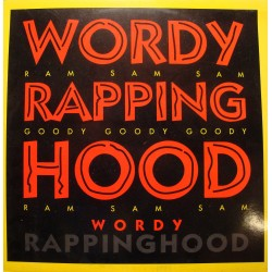 WORDY RAPPINGHOOD wordy rappinghood/bad news MAXI 1992 DANCE POOL VG+