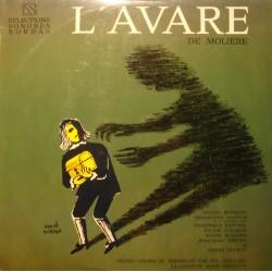 BOUQUET/DAUTUN/PATUREL/GAILLARD/BARROUX l'avare MOLIERE LP BORDAS diction VG++