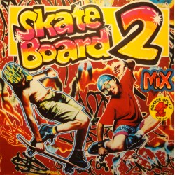 SKATE BOARD 2 bambataa/mc sar/quadrophonia QUIQUE TEJADA LP 1991 VG+