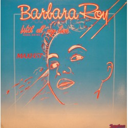 """BARBARA ROY with all my love (2 versions) MAXI 12"""" 1984 JONATHAN EX++"""