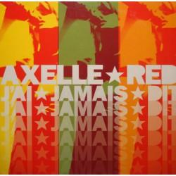 AXELLE RED j'ai jamais dit (2 versions) MAXI PROMO 2000 VIRGIN EX++