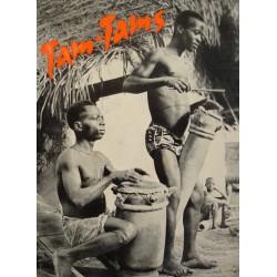 JOSEPH HUCHET serpent fétiche/tam tams/tempé 1960 missions africaines Lyon++