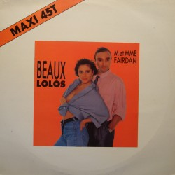 M. & Mme FAIRDAN beaux lolos (2 versions) MAXI PROMO 1989 DECAGONE EX++