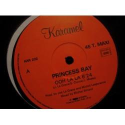 PRINCESS BAY ooh la la (2 versions) MAXI 1987 KARAMEL RARE VG+