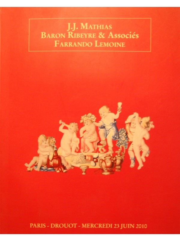 MATHIAS/RIBEYRE/FARRANDO LEMOINE catalogie 2010 DROUOT bijoux/tablaux/tapis EX++