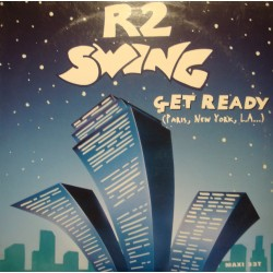 "R2 SWING get ready (4 versions) MAXI 12"" 1995 VG++"