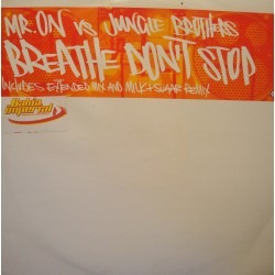 "MR. ON feat JUNGLE BROTHERS breath don't stop (2 versions) MAXI 12"" Promo 2003 VG++"