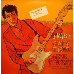 GENE VINCENT crazy times LP 1975 Capitol - big fat saturday night/pretty pearly VG++