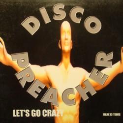 DISCO PREACHER let's go crazy (4 versions) MAXI 1998 PODIS VG+